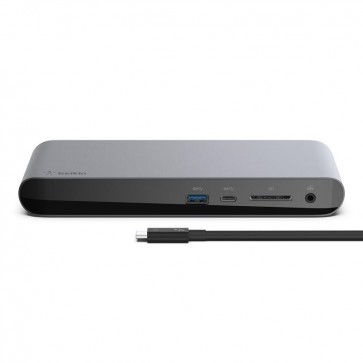 Купити Док-станція Belkin Thunderbolt 3 Dock Pro, cable 0.8m, black