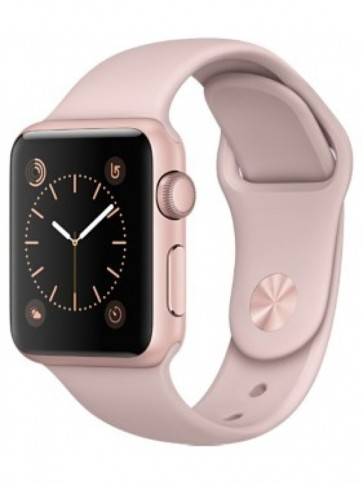 Apple Watch Series 3 GPS, 38mm Gold Aluminum Case with Pink Sand Sport Band