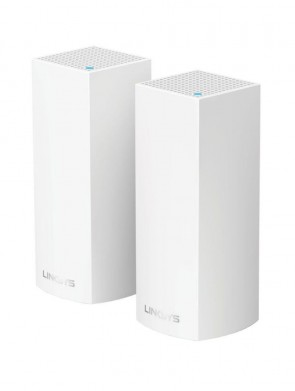 Точка доступу Linksys Velop Whole Home Intelligent Mesh WiFi System, Tri-Band, 2-pack