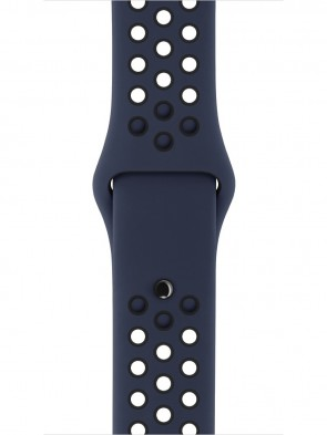 Ремінець Apple 42mm Obsidian/Black Nike Sport Band