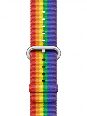 Ремінець Apple 38mm Pride Edition Woven Nylon