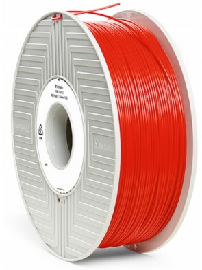 Картридж 3D VERBATIM 3D printer filament PLA 1.75mm 1KG Red 55270
