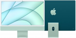 Купити iMac 24'' Retina 4.5K M1 chip 8-core CPU/8-core GPU/16-core Neural Engine8GB/512GB SSD Green