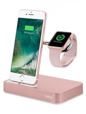 Док-станція BELKIN Charge Dock iWatch+Iphone, Rose Gold