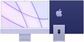 Купити iMac 24'' Retina 4.5K M1 chip 8-core CPU/8-core GPU/16-core Neural Engine8GB/512GB SSD Purple