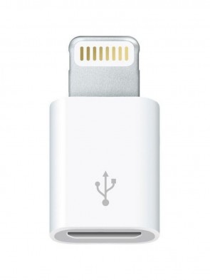 Адаптер Apple Lightning to Micro USB (for iPod/iPhone)