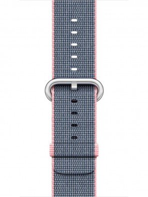 Ремінець Apple 38mm Light Pink/Midnight Blue Woven Nylon