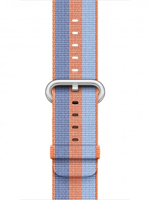 Ремінець Apple 42mm Orange Woven Nylon