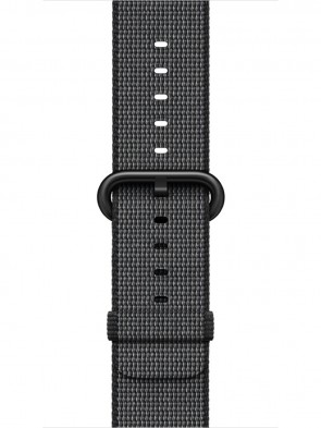 Ремінець Apple 42mm Black Woven Nylon