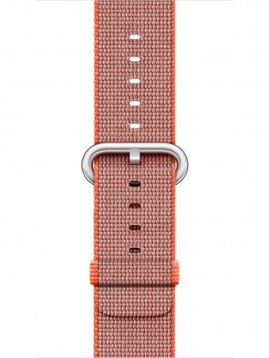 Ремінець Apple 42mm Space Orange/Anthracite Woven Nylon