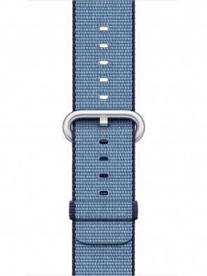 Ремінець Apple 42mm Navy/Tahoe Blue Woven Nylon