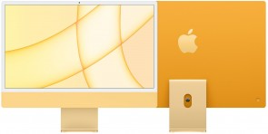 Купити iMac 24'' Retina 4.5K M1 chip 8-core CPU/8-core GPU/16-core Neural Engine8GB/512GB SSD Yellow