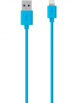 Кабель BELKIN USB 2.0 Lightning charge/sync cable 1.2м, Blue