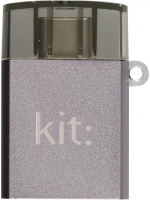 Адаптер Kit Adaptor Premium 3.1 USB-C to USB-A (Space Gray)