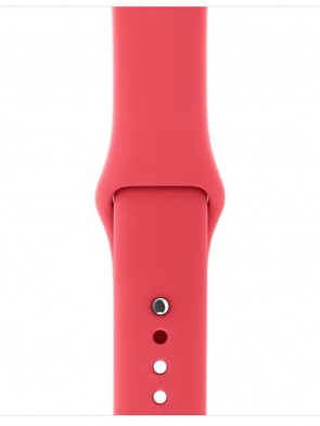 Ремінець Apple 42mm Red Raspberry Sport Band