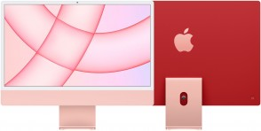 Купити iMac 24'' Retina 4.5K M1 chip 8-core CPU/7-core GPU/16-core Neural Engine8GB/256GB SSD Pink
