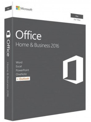 Програмне забезпечення Microsoft Office Mac Home and Business 2016 Russian 1PK Medialess P2