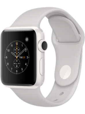 Apple Watch Edition Series 2, 38mm White Ceramic Case with Cloud Sport Band