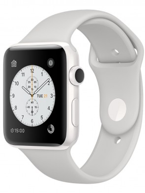 Apple Watch Edition Series 2, 42mm White Ceramic Case with Cloud Sport Band