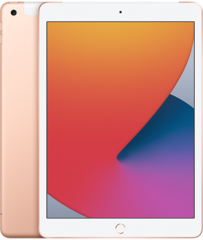 Купити iPad 2020(8 Gen) 10.2-inch Wi-Fi+4G 128GB - Gold