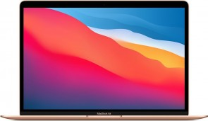 "Купити MacBook Air 13.3"" M1 chip 8-core CPU/7-core GPU/16-core Neural Engine/8GB/256GB Flash Gold"
