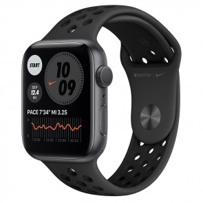 Apple Watch Nike SE GPS, 44mm Space Gray Aluminium Case with Anthracite/Black Nike Sport Band